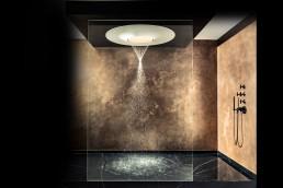 Designerbad mit Regendusche Aquamoon