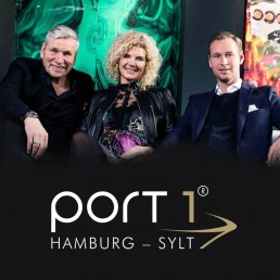 Das Port1-Team: Wolfgang John, Britt Thormann, Tim Godau (vlnr)