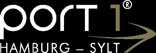 Port 1 Hamburg - Sylt. Logo