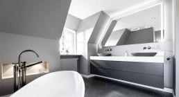 Freistehende Badewanne - Luxusbad Sylt