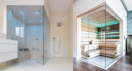 Entspannen im privaten Spa - Dampfdusche, Sauna und Kneipp-Anwendungen zu Hause